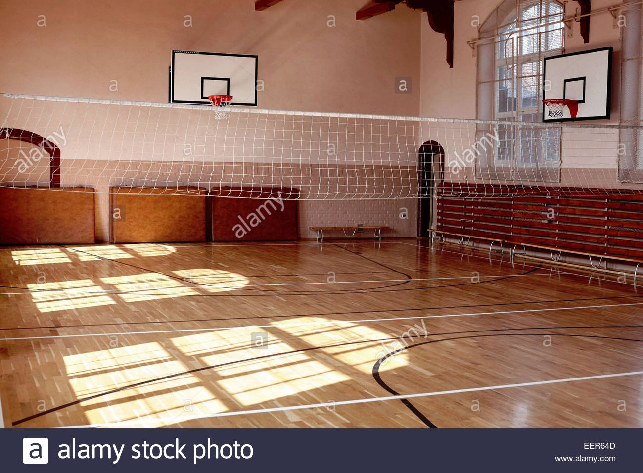 old fashioned school gym in wroclaw poland stock photo 77956381 alamy. Black Bedroom Furniture Sets. Home Design Ideas