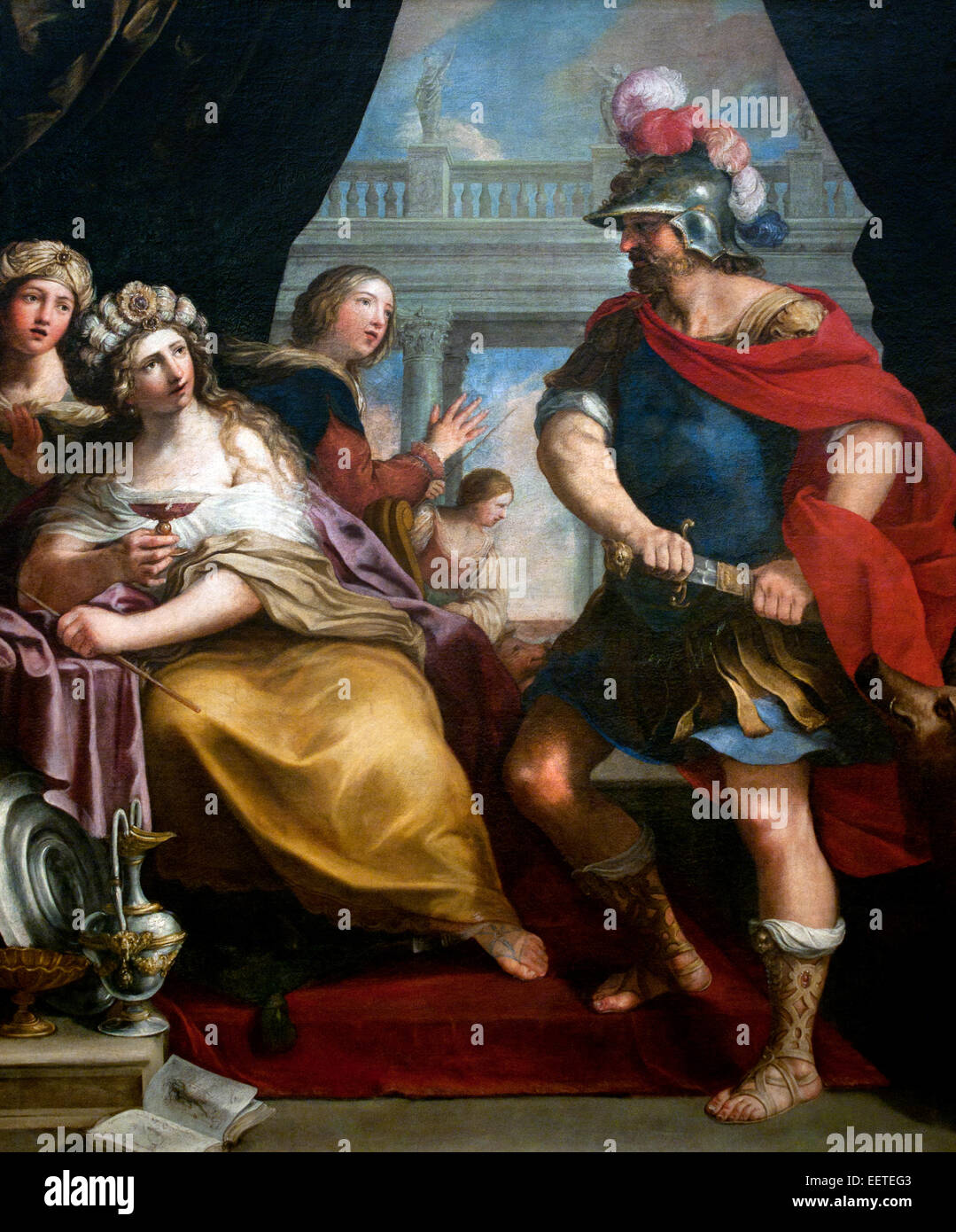 Ulysses Odysseus And Circe Goddess Of Magic 1650