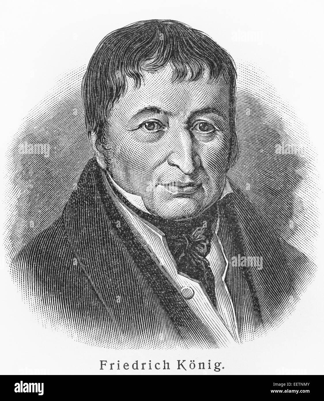 Friedrich Koenig - Stock Image