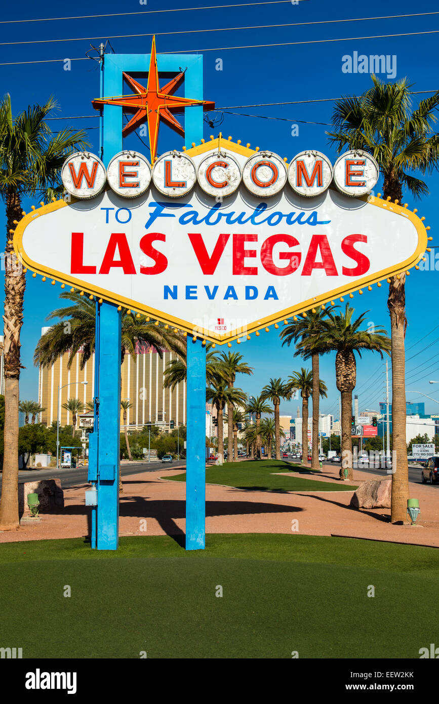welcome to fabulous las vegas sign las vegas nevada usa stock photo 77997575 alamy. Black Bedroom Furniture Sets. Home Design Ideas