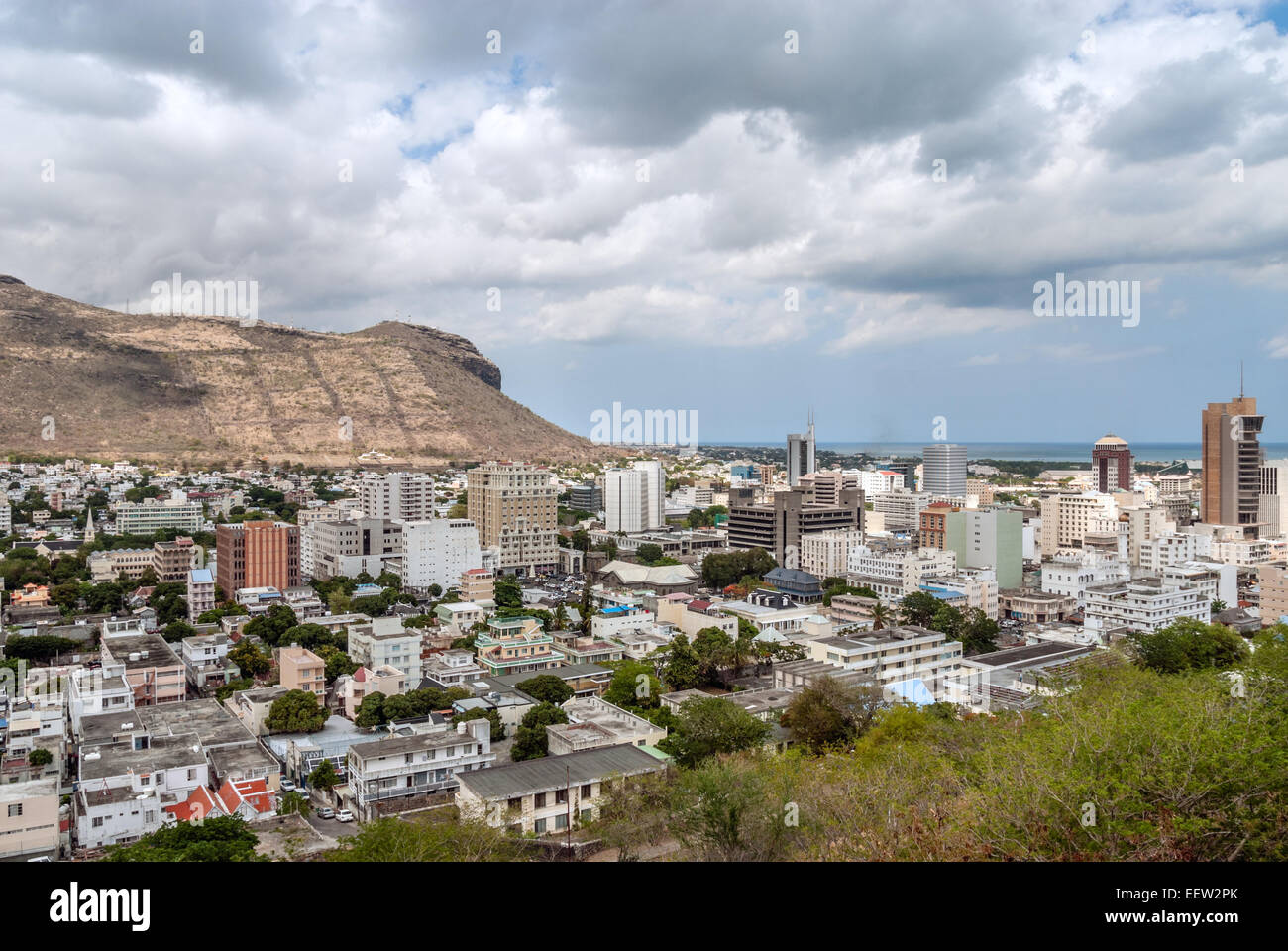 Business district of port louis mauritius island - Where is port louis mauritius located ...