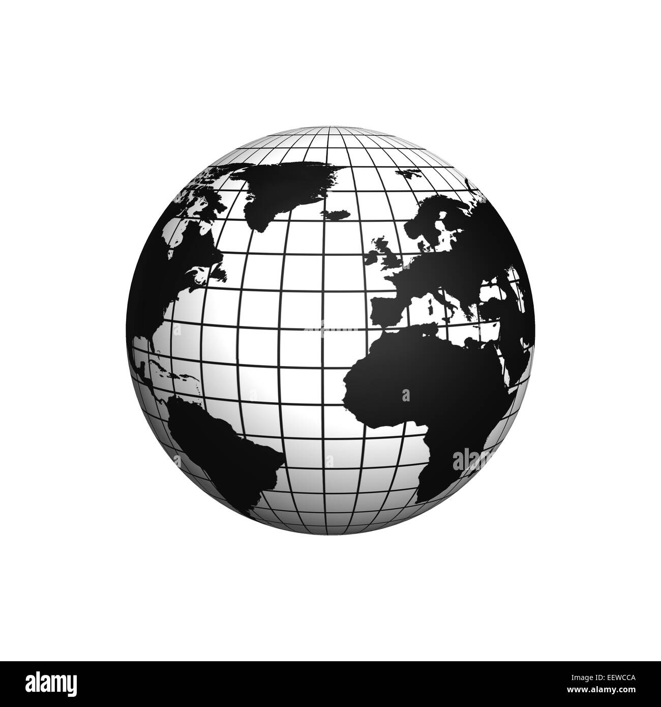 Globe Icon Black and White Stock Photos & Images - Alamy