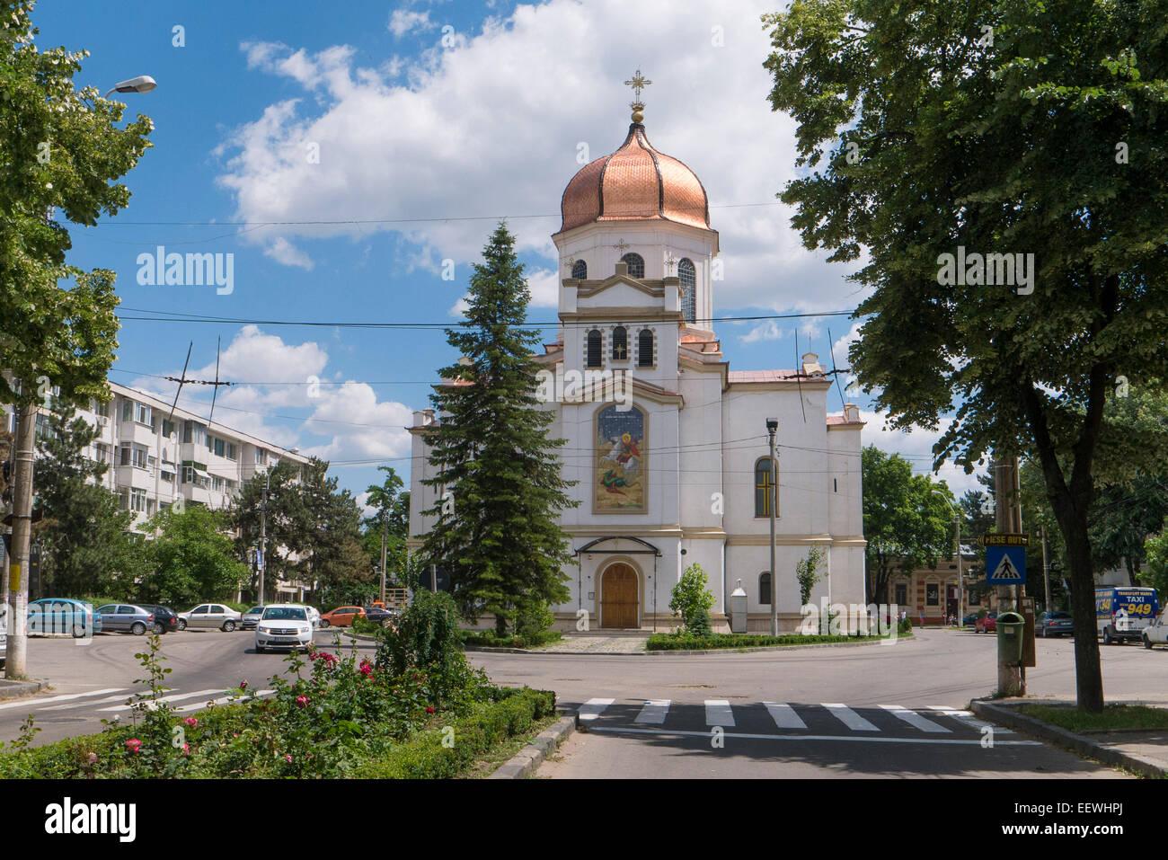 Sf. Gheorghe church, Braila, Muntenia, Romania - Stock Image