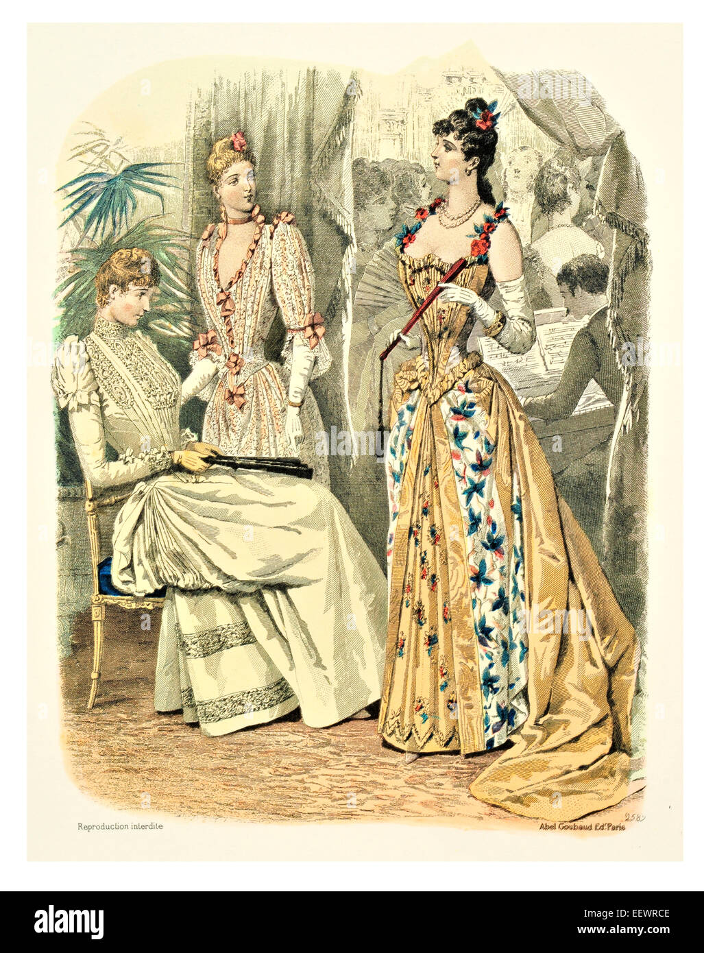 Late Victorian Fashion Stock Photos & Late Victorian Fashion Stock ...