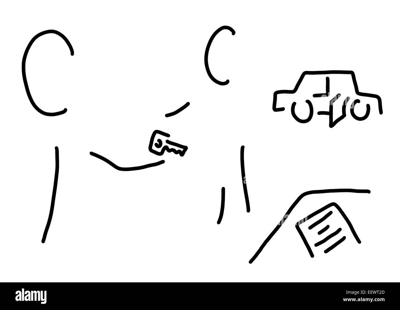 autoshop assistant autopurchase Stock Photo: 78014341 - Alamy