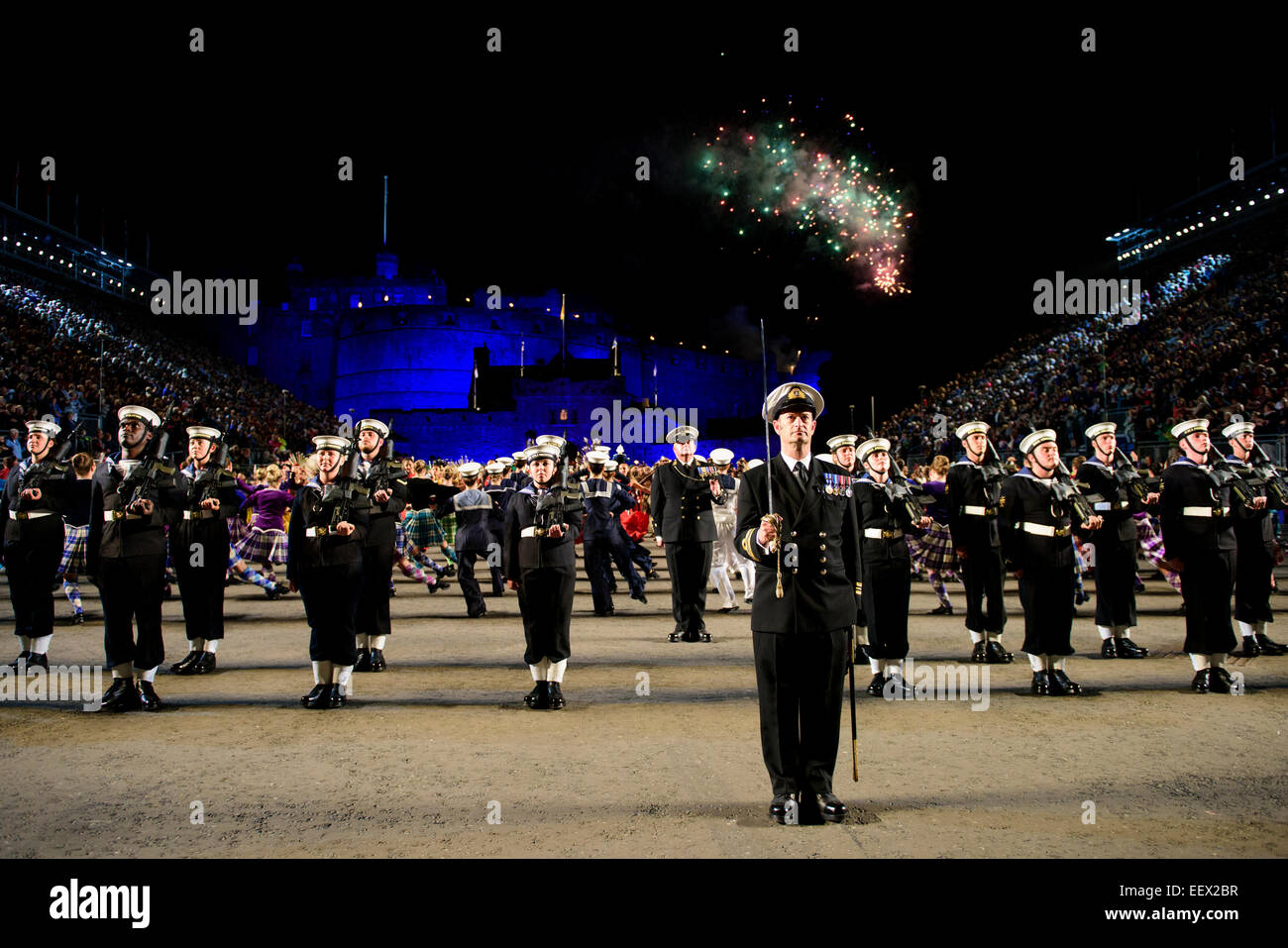 British royal marines stock photos british royal marines for Royal edinburgh military tattoo
