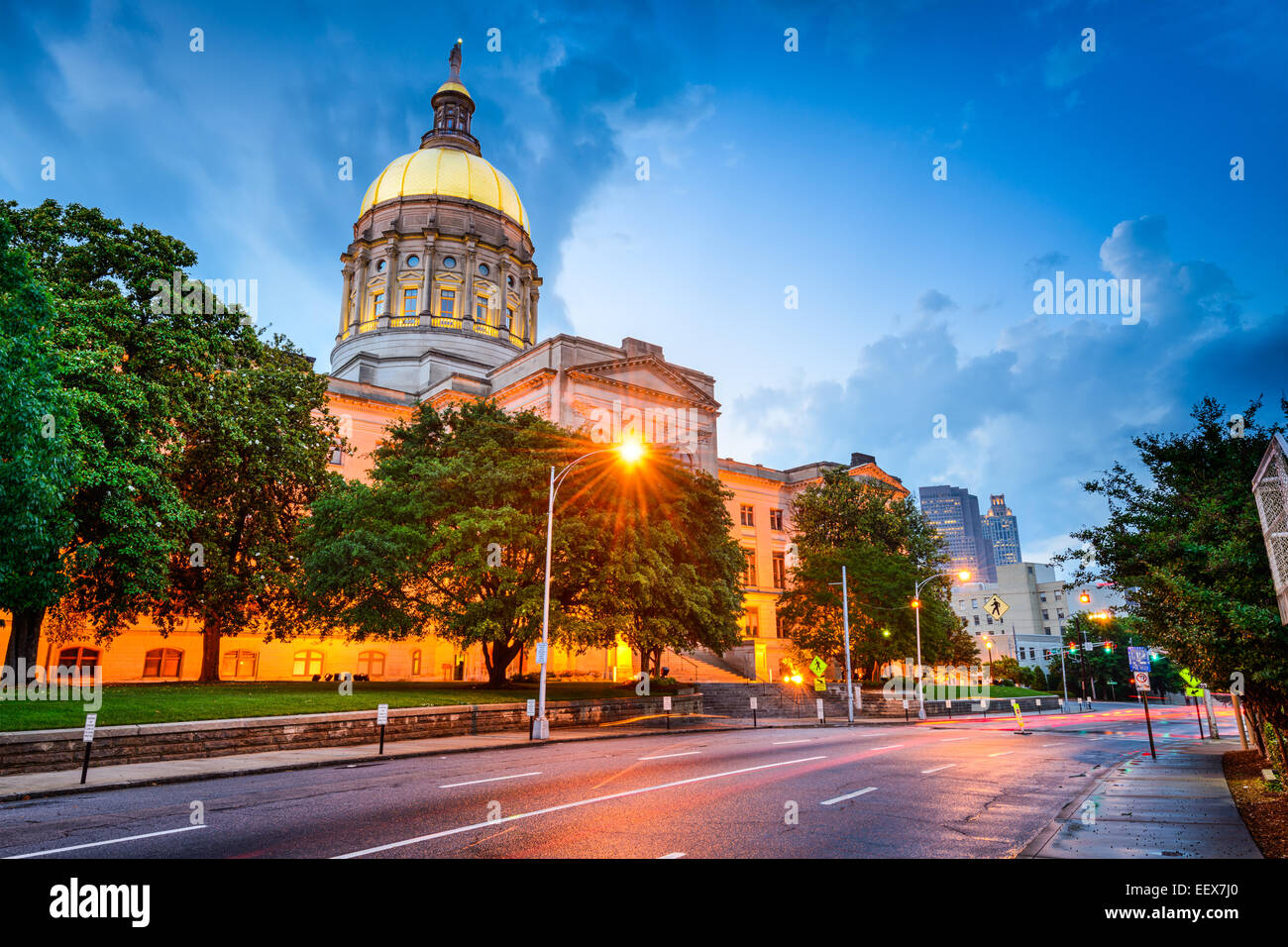 georgia state capitol building in atlanta georgia usa stock photo 78023400 alamy. Black Bedroom Furniture Sets. Home Design Ideas