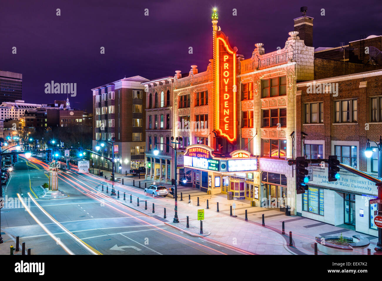 Providence Performing Arts Center in Providence, Rhode Island. - Stock Image