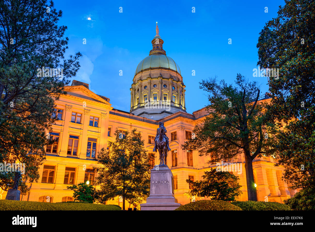 Georgia State Capitol Building in Atlanta, Georgia, USA. - Stock Image