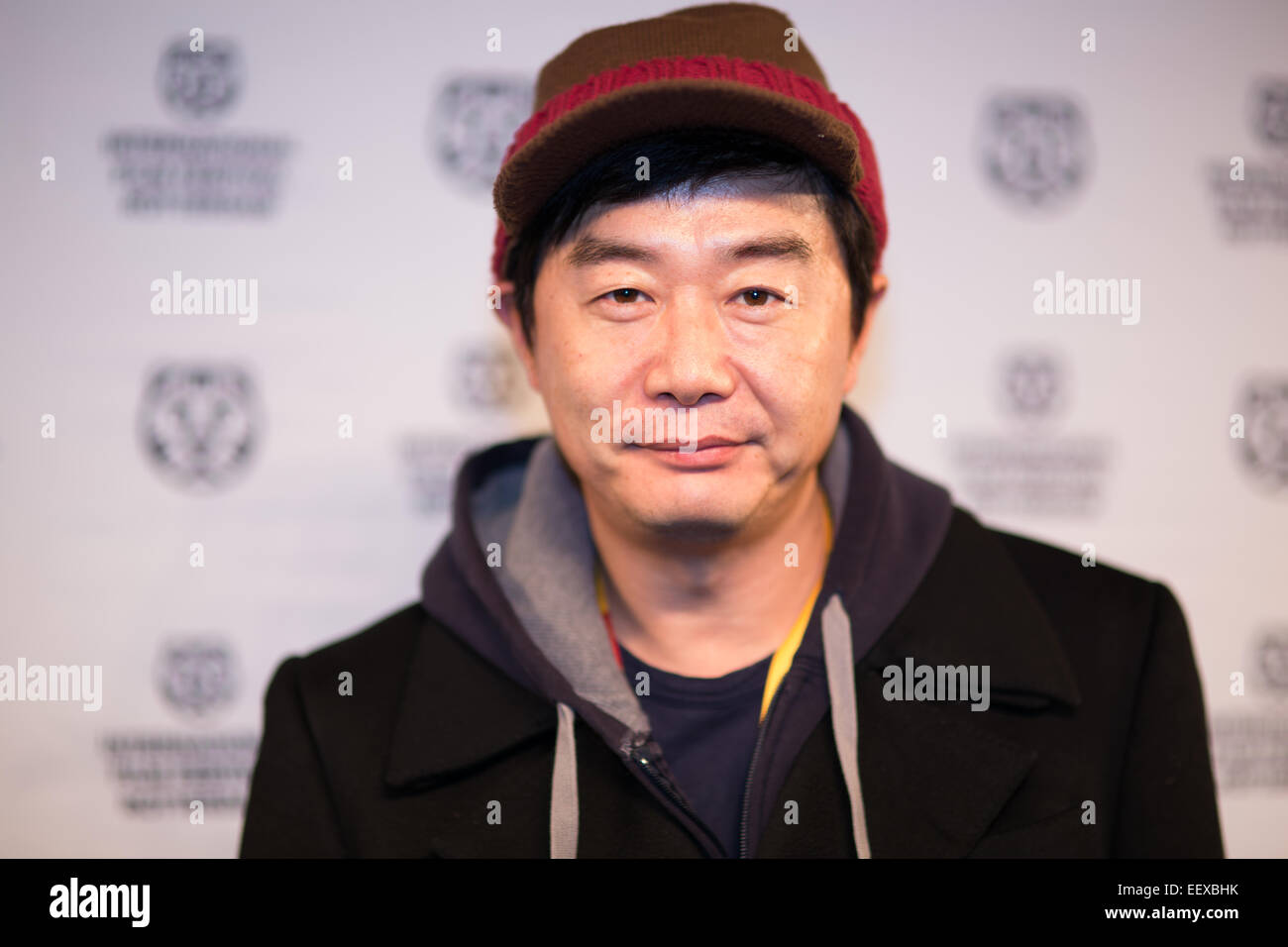 ROTTERDAM, NETHERLANDS - JANUARY 22, 2015: Korean Director Jang Jin