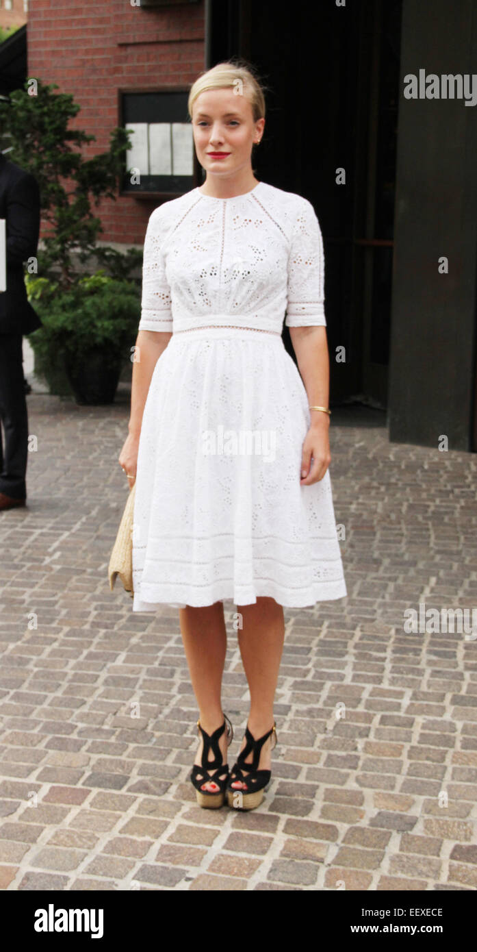 'Mood Indigo' New York premiere at Tribeca Grand Hotel in New York City  Featuring: Kate Foley Where: New - Stock Image
