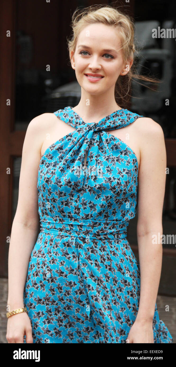 'Mood Indigo' New York premiere at Tribeca Grand Hotel in New York City  Featuring: Jess Weixler Where: - Stock Image