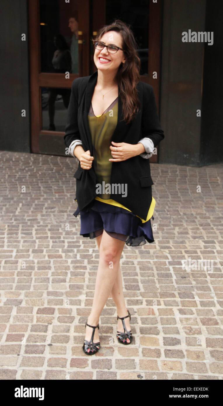'Mood Indigo' New York premiere at Tribeca Grand Hotel in New York City  Featuring: Jennifer Prediger Where: - Stock Image