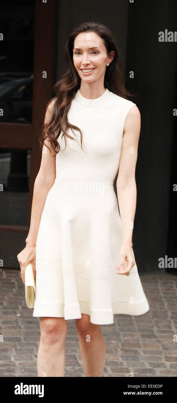 'Mood Indigo' New York premiere at Tribeca Grand Hotel in New York City  Featuring: Olivia Chantecaille - Stock Image