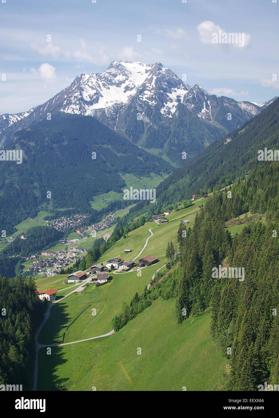 Mountain views - Stock Image