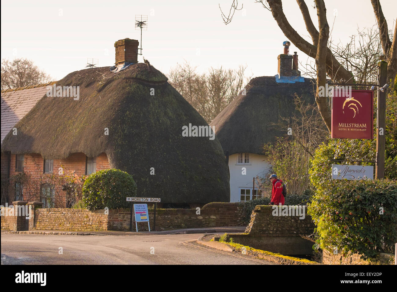 Bosham West Sussex UK, Friday 23 jan 2015. Voluntary DNA testing  is going ahead in the sleepy village of Bosham - Stock Image