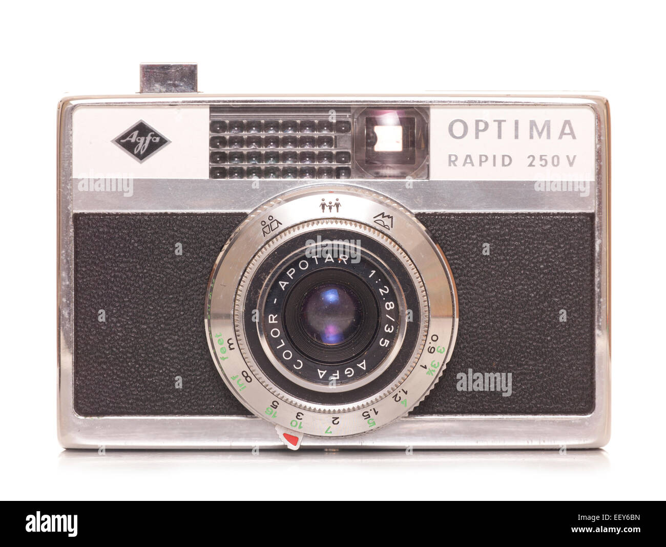 Agfa Optima rapid 250v slr film camera cutout - Stock Image
