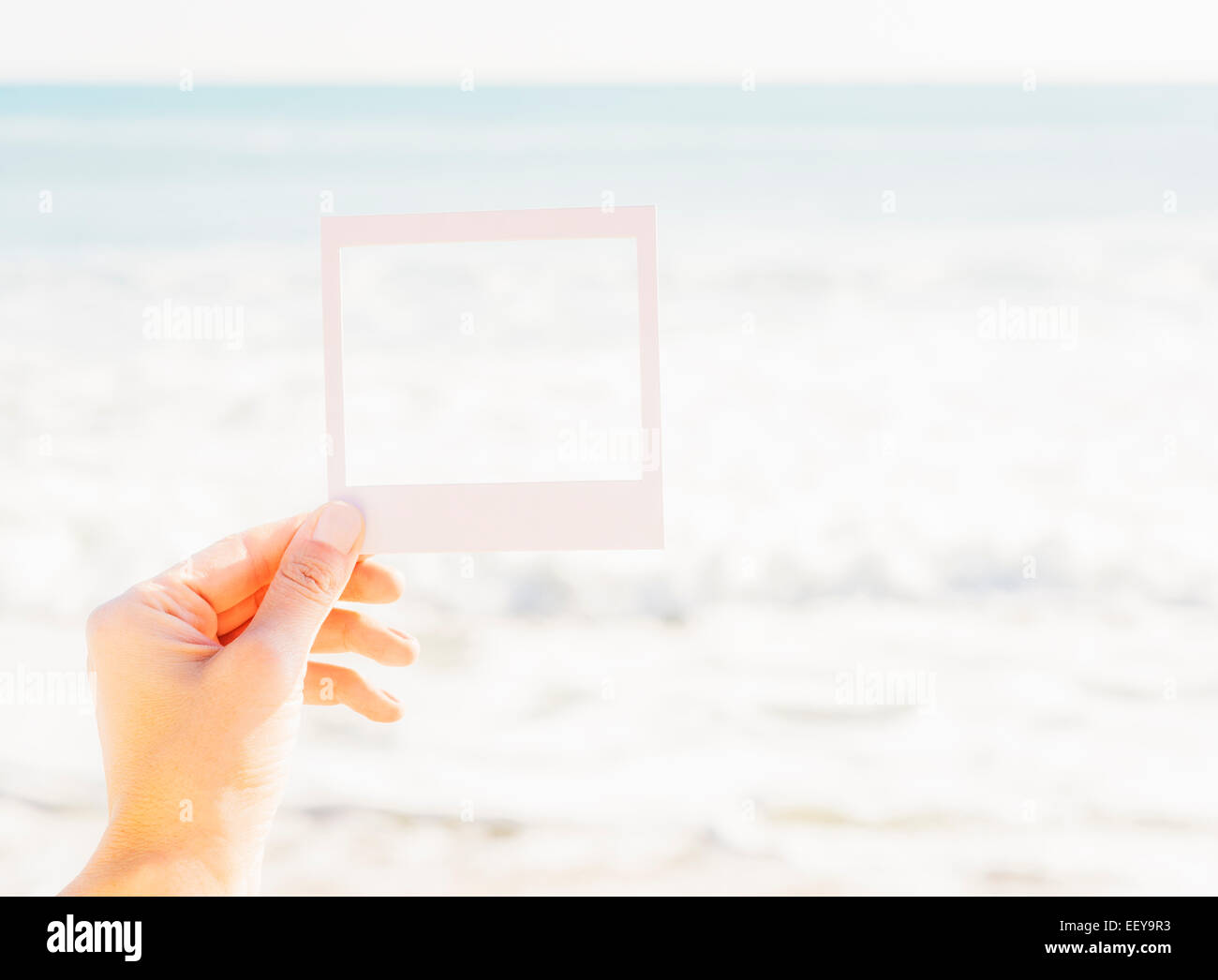 Polaroid Frame Beach Stock Photos & Polaroid Frame Beach Stock ...