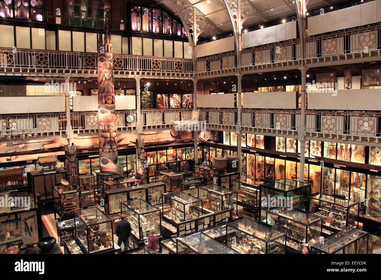 Pitt Rivers Museum, Oxford, Oxfordshire, England, Great Britain, United Kingdom, UK, Europe - Stock Image