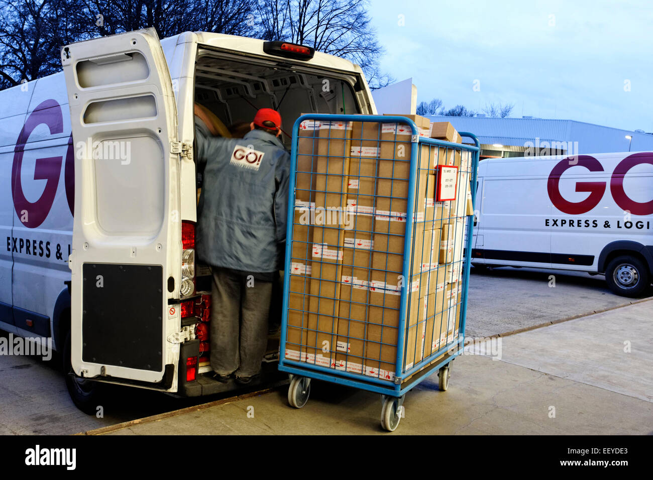 GO Express Logistik GmbH Stock Photo