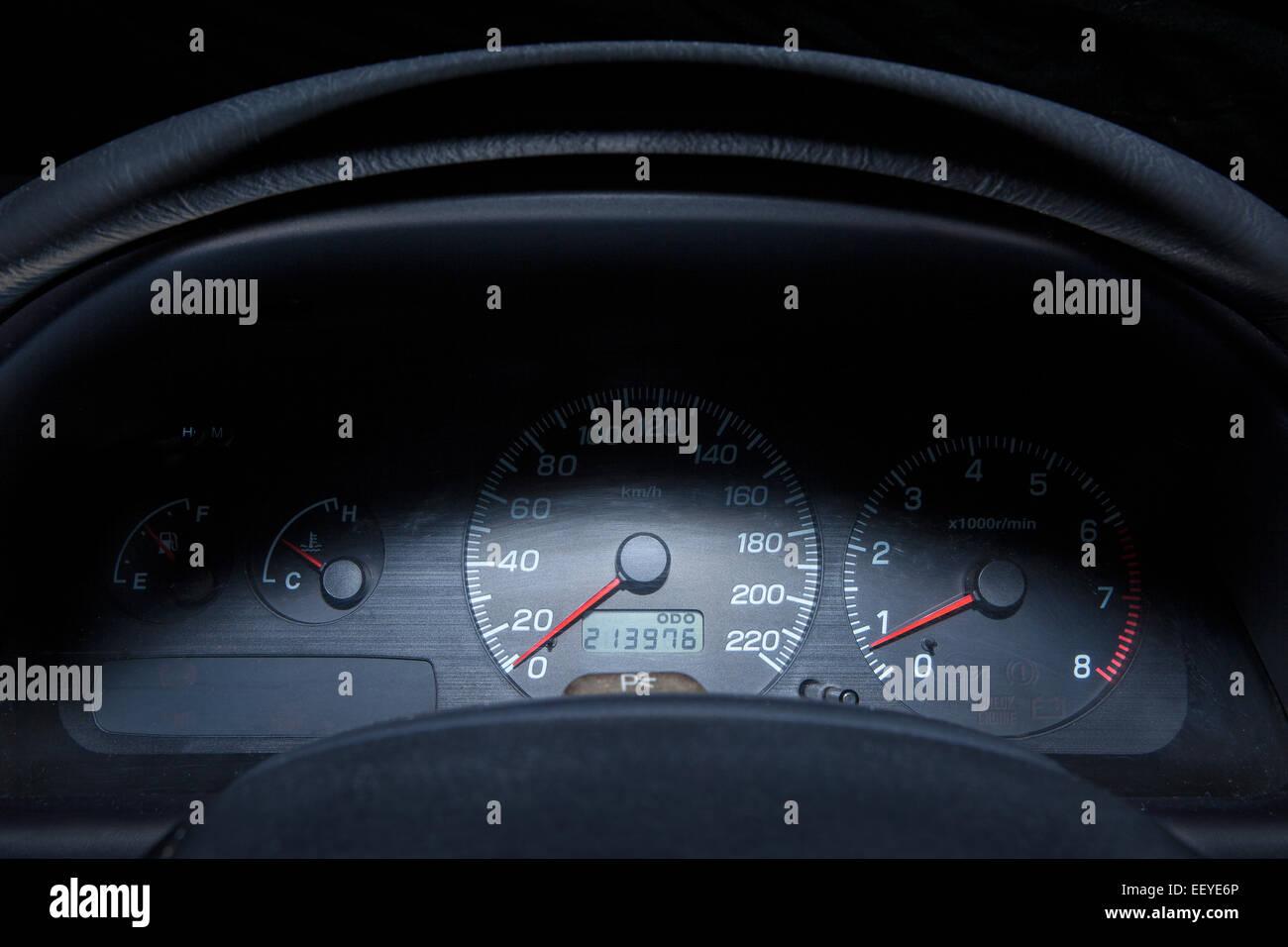 dash board - Stock Image