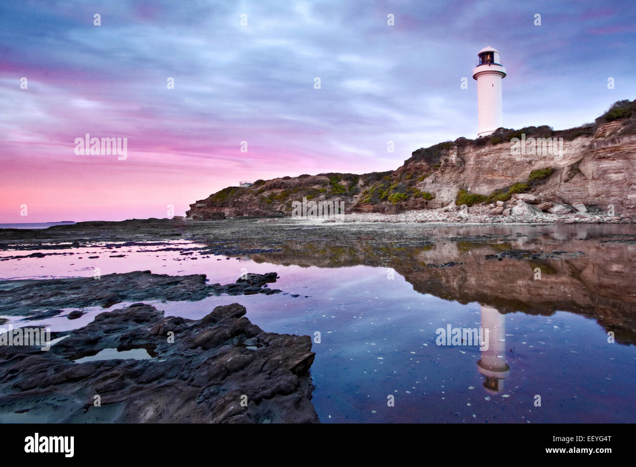 Australian coastal scene - Stock Image