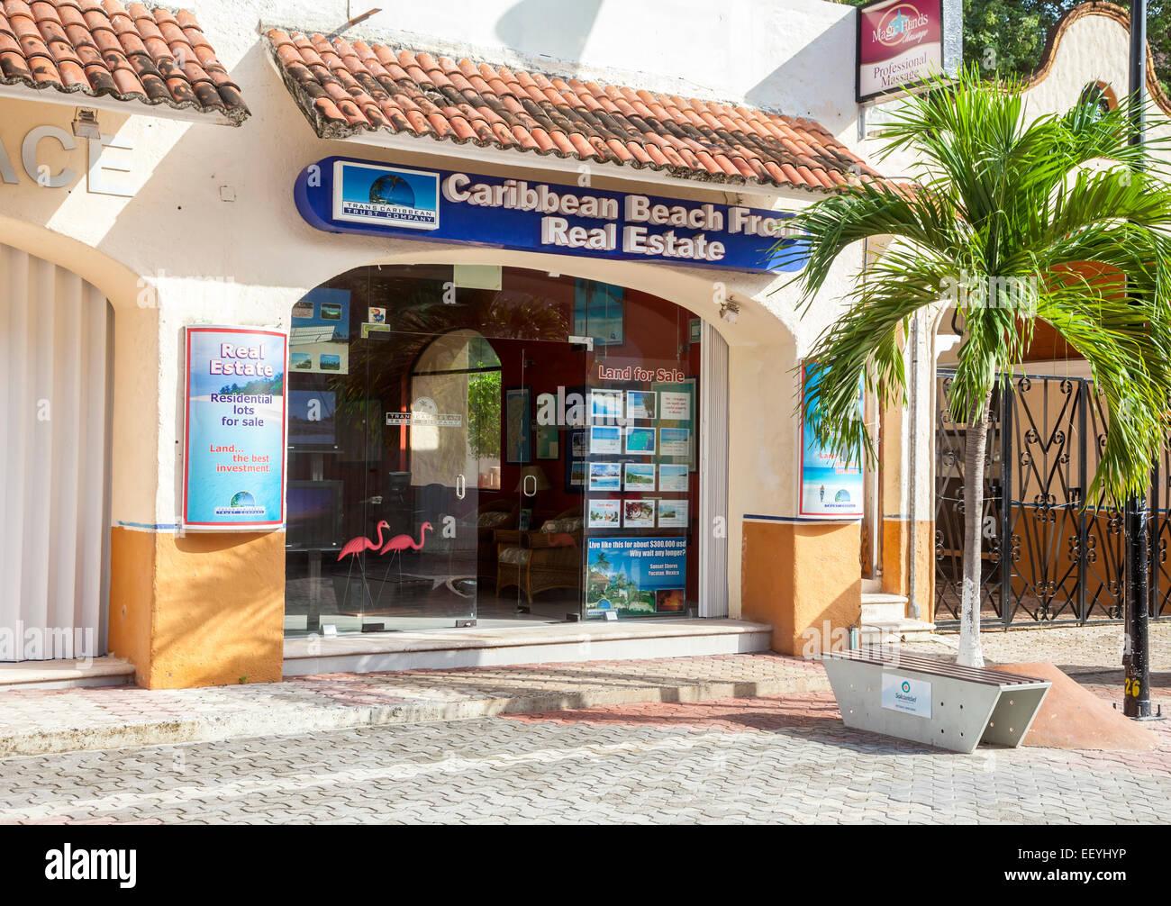 Real Estate Office, Playa del Carmen, Riviera Maya, Yucatan