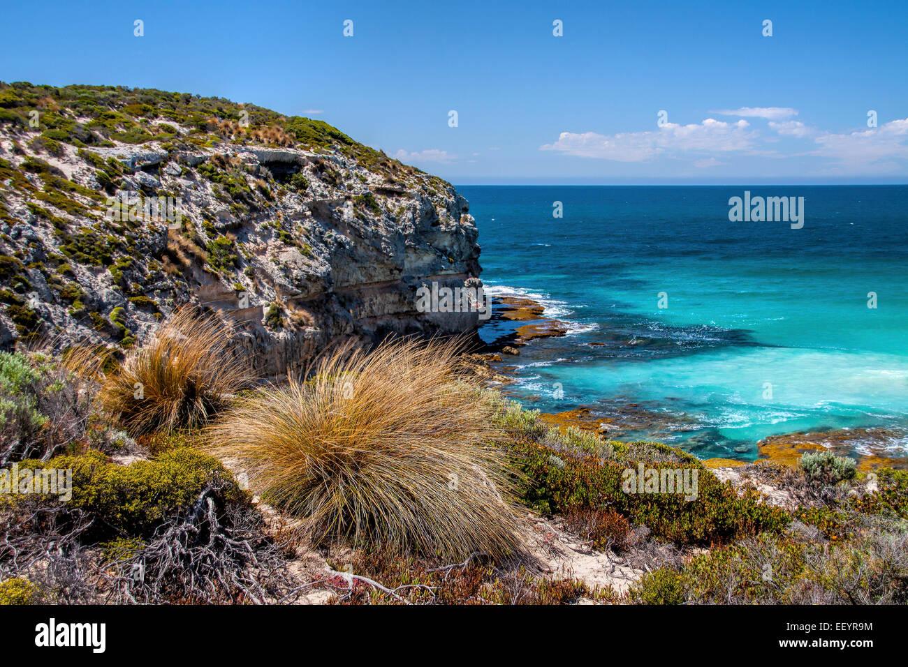 low tide, kangaroo island, ocean scene, beach, beach scenery, Stock Photo
