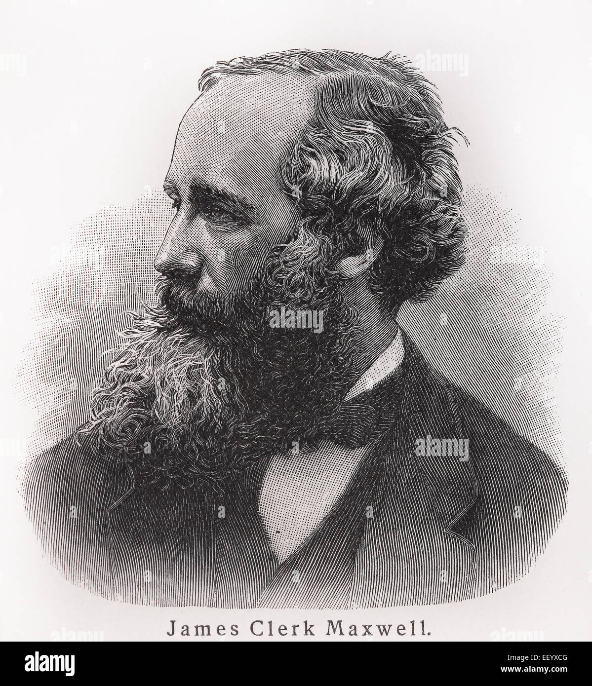James Clerk Maxwell - Stock Image