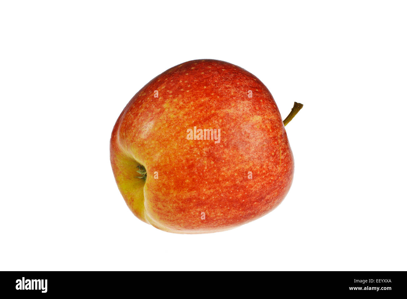 A red apple released - Stock Image