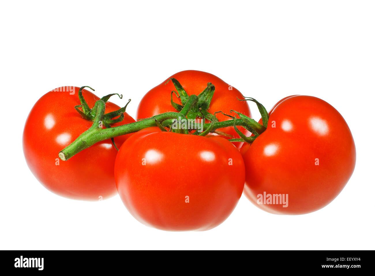 Four tomato optional. - Stock Image