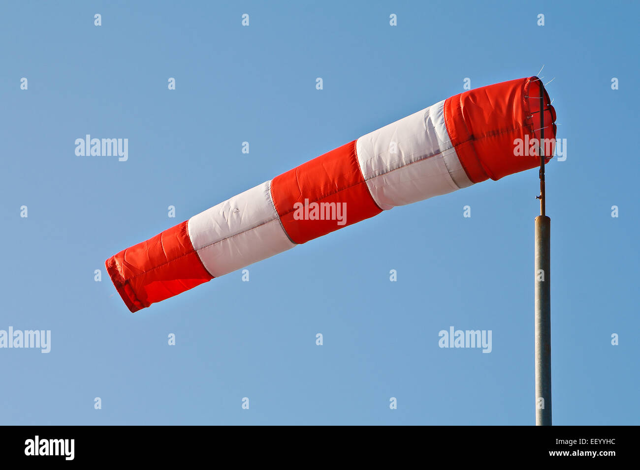 A wind sock. - Stock Image