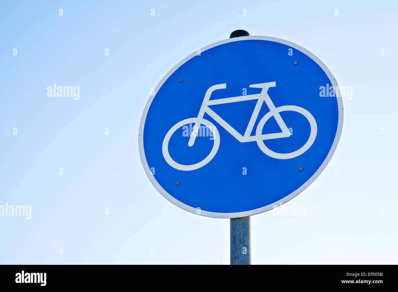 Bike ride allowed. Stock Photo