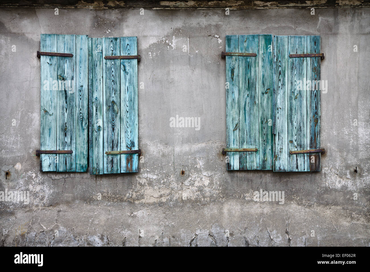 Detail of an old house. - Stock Image