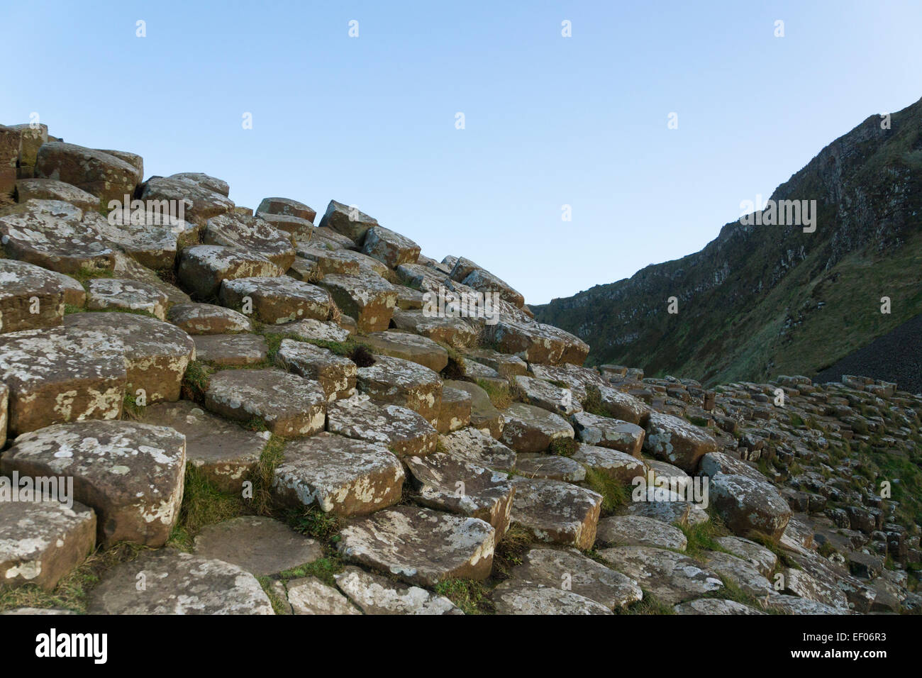 Giant's Causeway, Northern Ireland - Stock Image