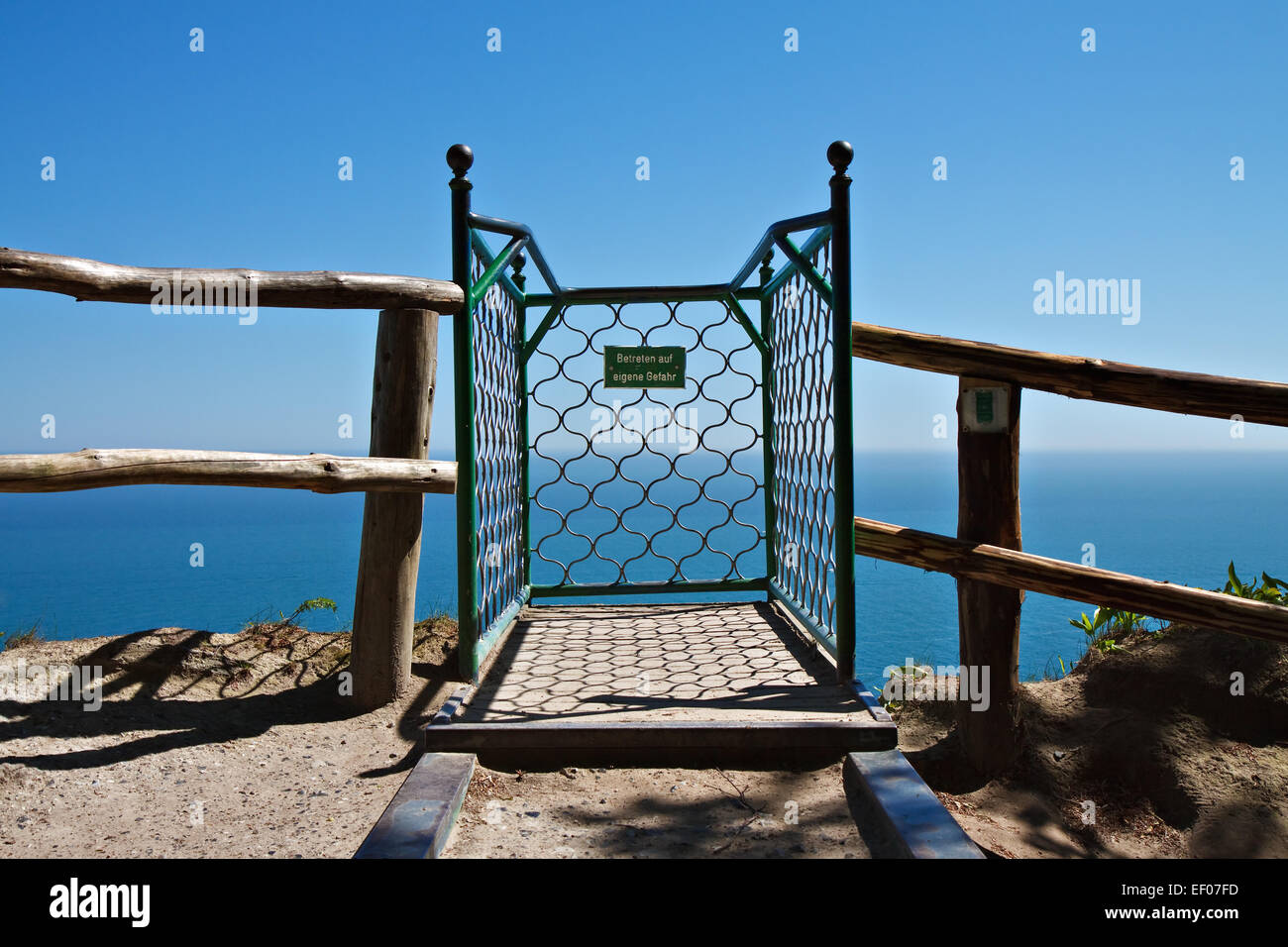 Victoria observation deck view of complaints. - Stock Image