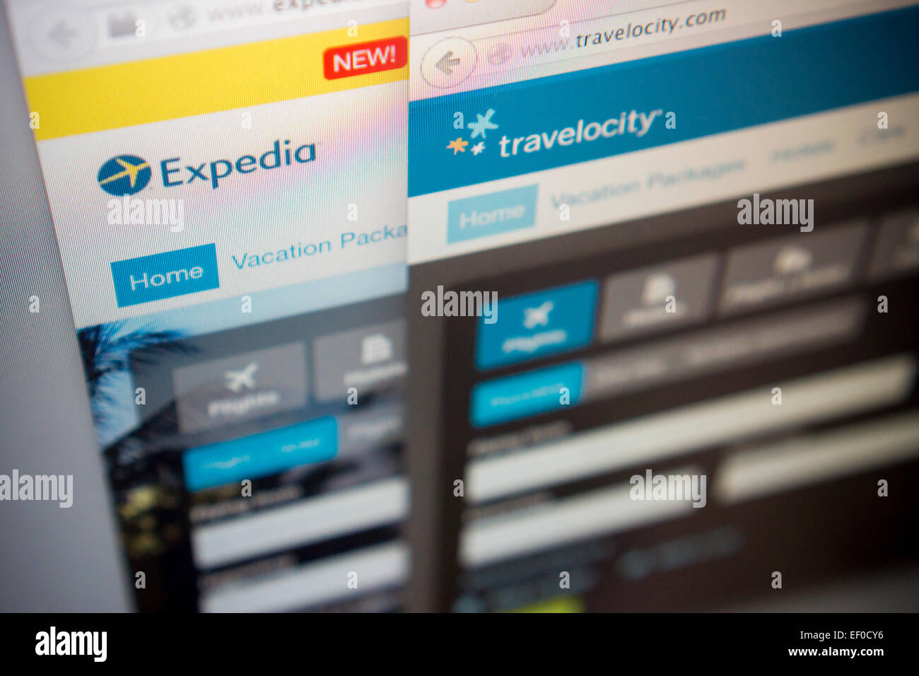 Travelocity search engine