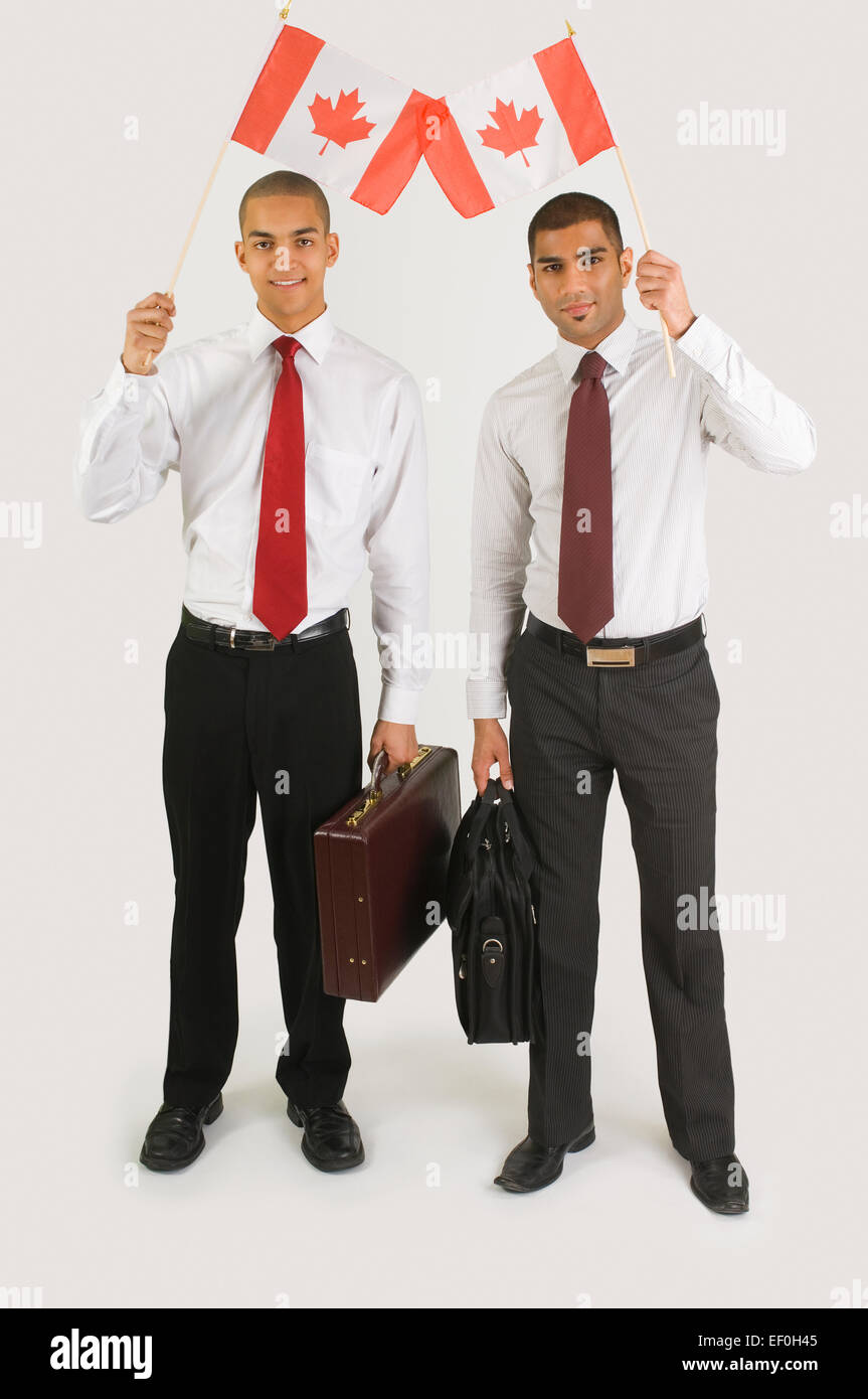 Canadian asian businessmen