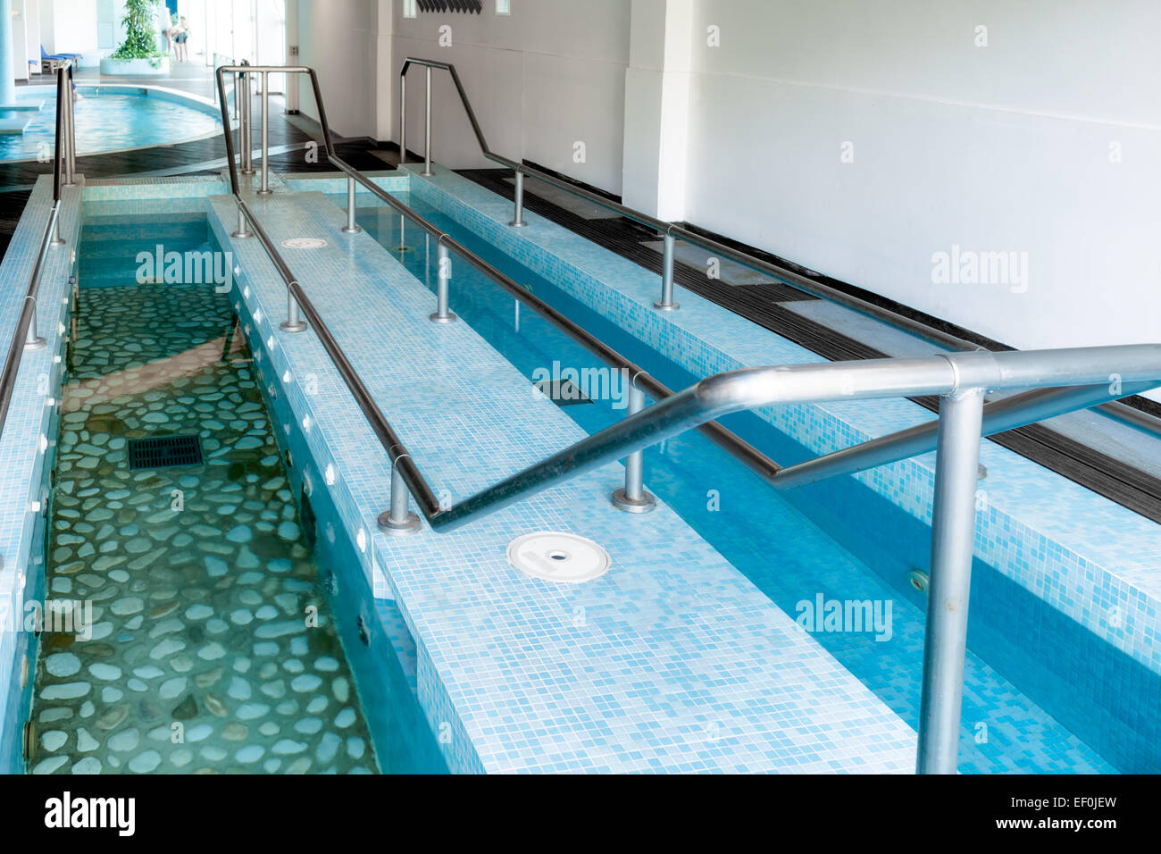 Vascular Therapy Pools - Stock Image