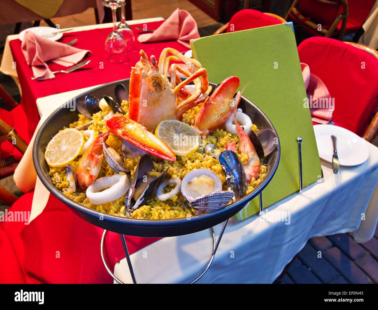 Paella - Stock Image