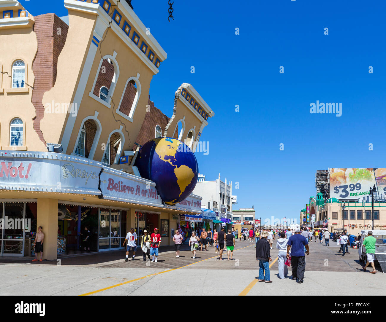 Ripley's Believe It or Not on the Boardwalk in Atlantic City, New Jersey, USA - Stock Image