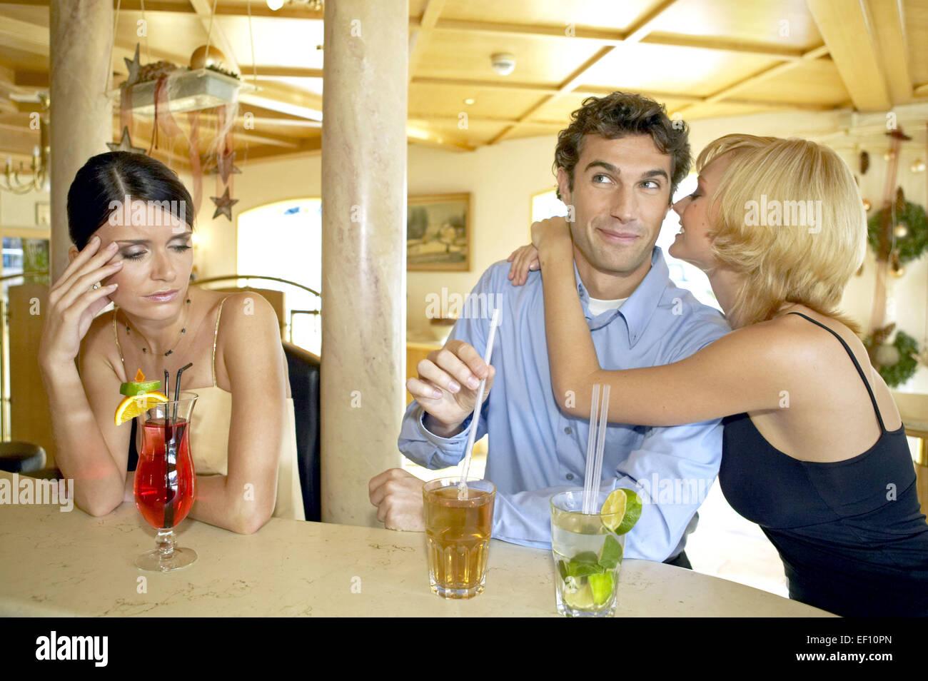 Flirten frau mann