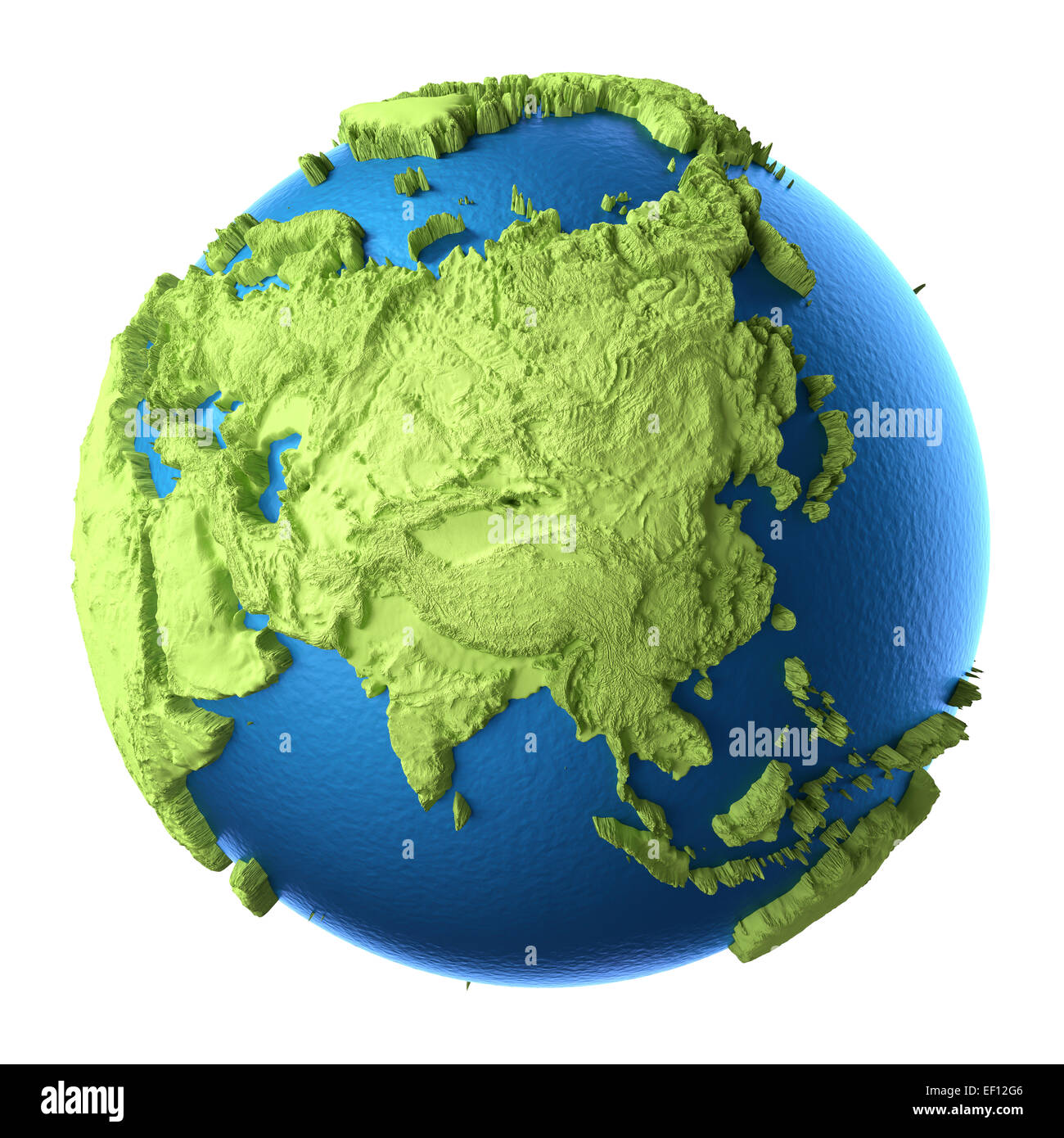 Map Of Asia 3d.Asia Globe Map 3d Stock Photos Asia Globe Map 3d Stock Images Alamy