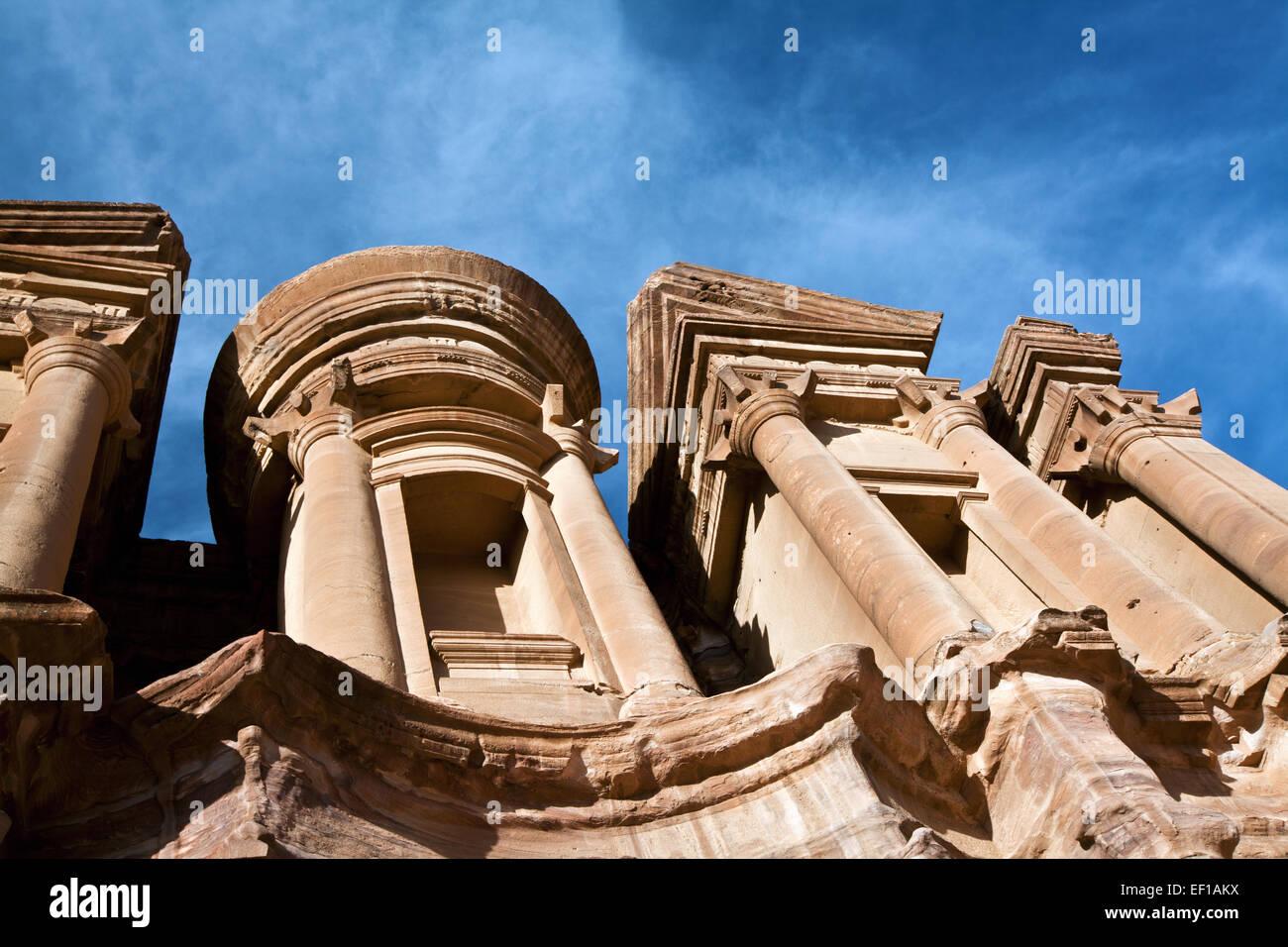 Petra in Jordan Stock Photo