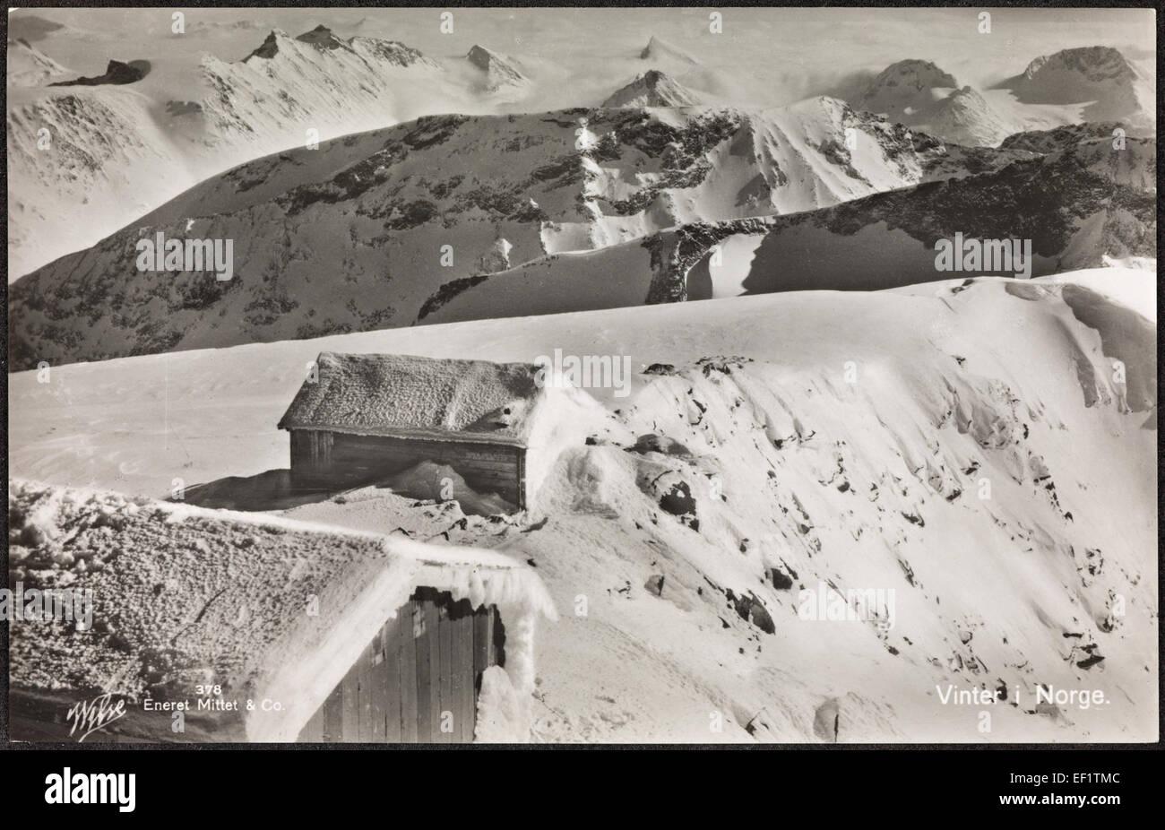 378. Vinter i Norge - Stock Image