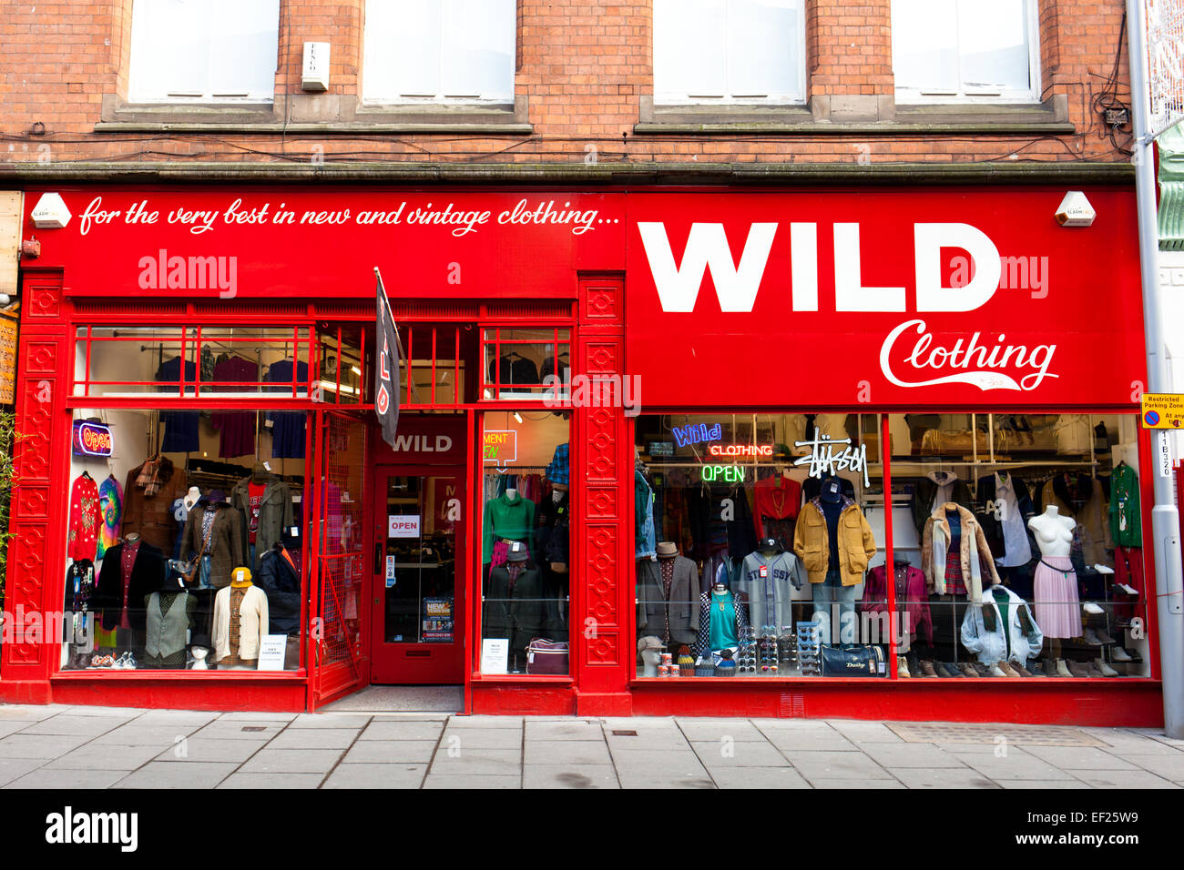 Vintage Clothing Store High Resolution Stock Photography And Images Alamy
