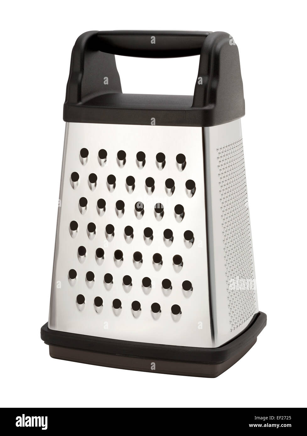 Stainless Steel Box Grater - Stock Image