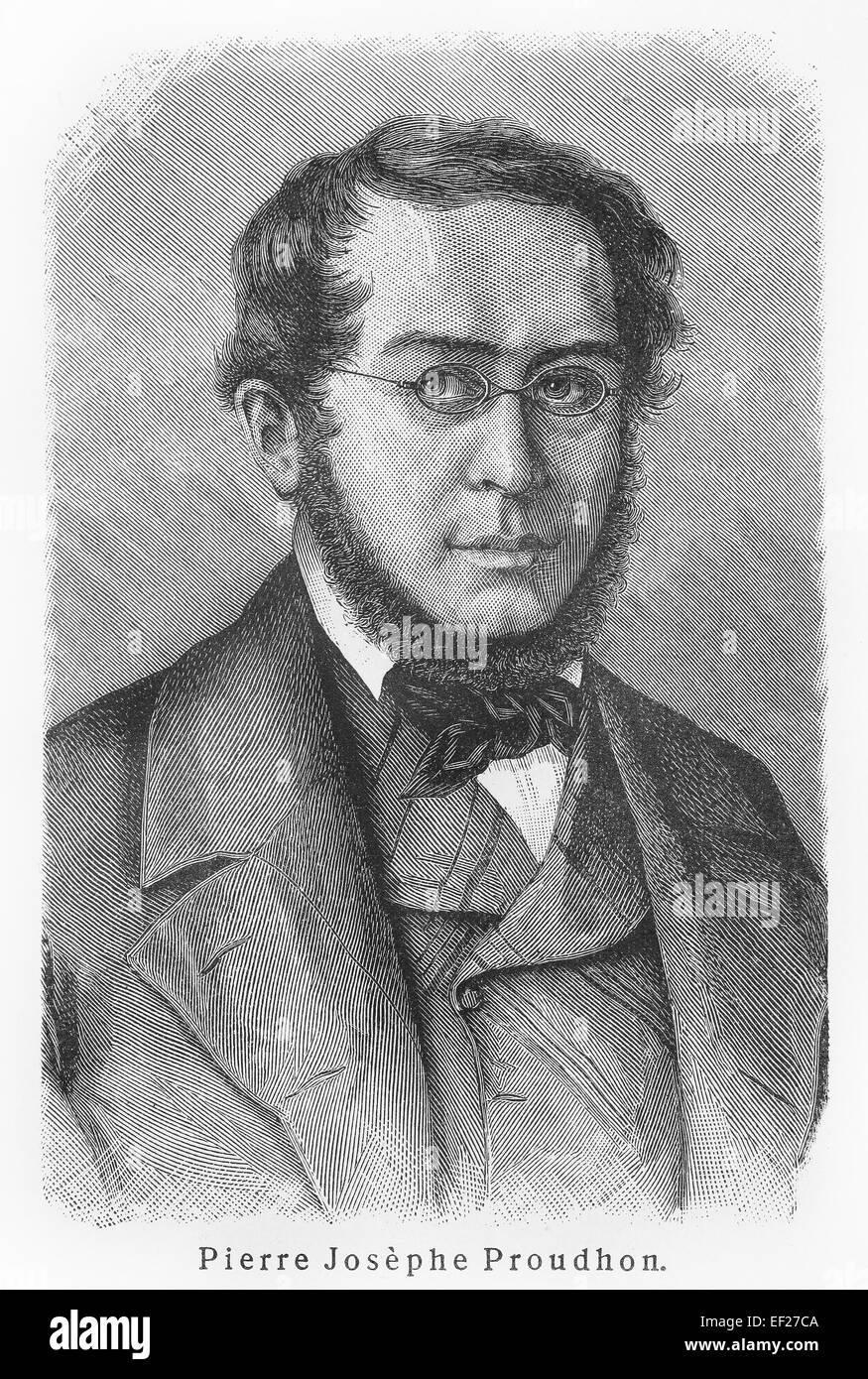 Pierre-Joseph Proudhon - Stock Image