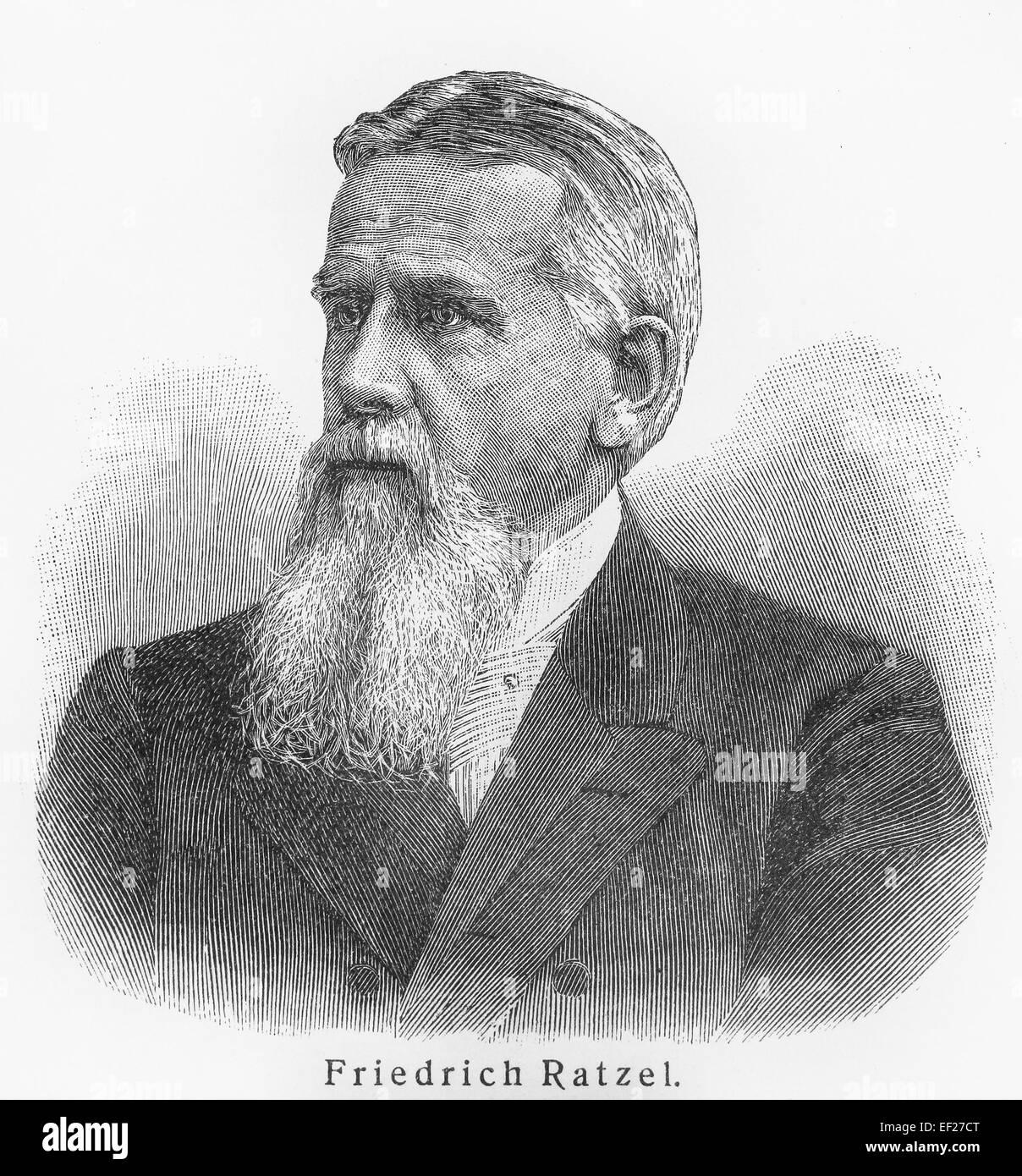 Friedrich Ratzel - Stock Image