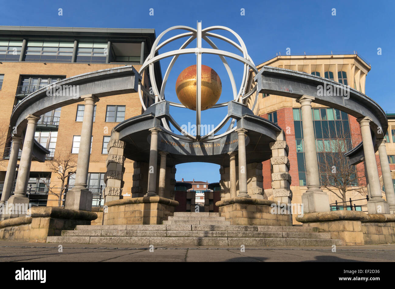 The Swirle Pavilion on the quayside at Newcastle upon Tyne north east England UK - Stock Image